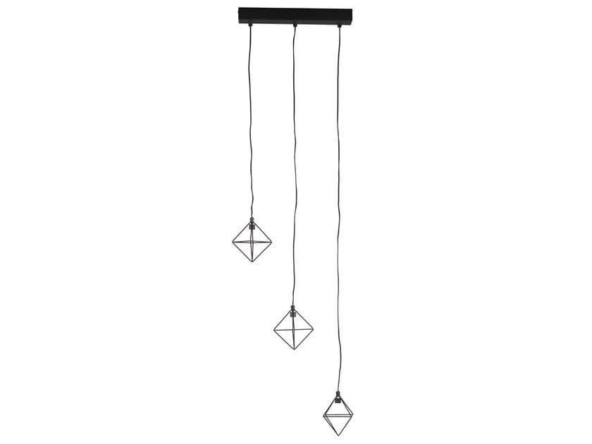 LED metal pendant lamp PUZURS by Forestier