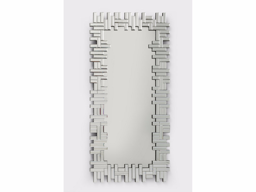 Rectangular framed mirror PUZZLE by KARE-DESIGN