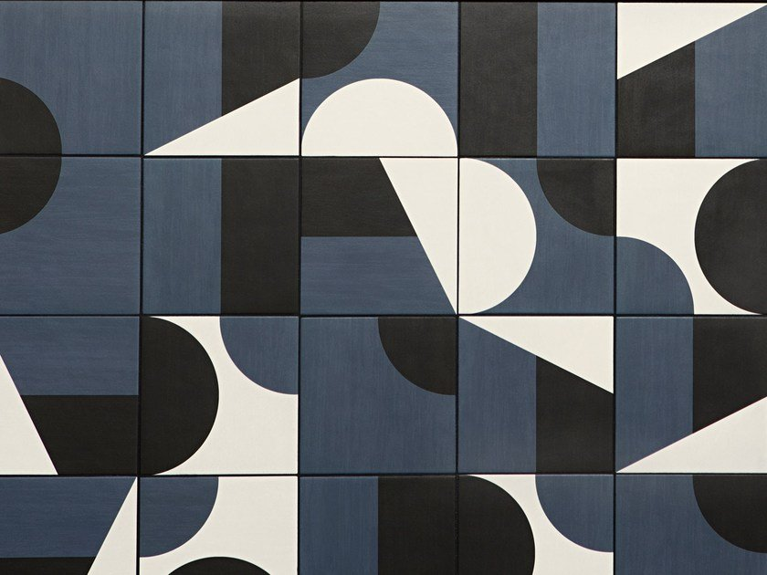 Glazed Stoneware Wallfloor Tiles Puzzle Puzzle Collection By Mutina