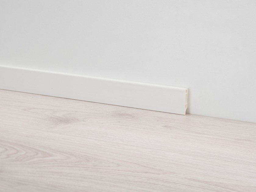 PVC Skirting board PVC LINE 8612 by PROFILPAS