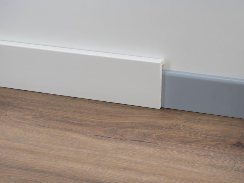 PVC Skirting board PVC LINE 8614 by PROFILPAS
