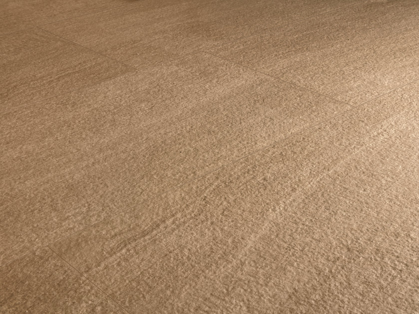 Indoor/outdoor porcelain stoneware wall/floor tiles Q-STONE SAND by Provenza by Emilgroup