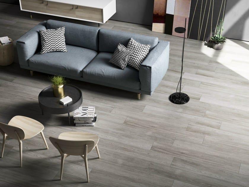 Pavimento in gres porcellanato effetto legno Q-STYLE By Ceramica d\'Imola