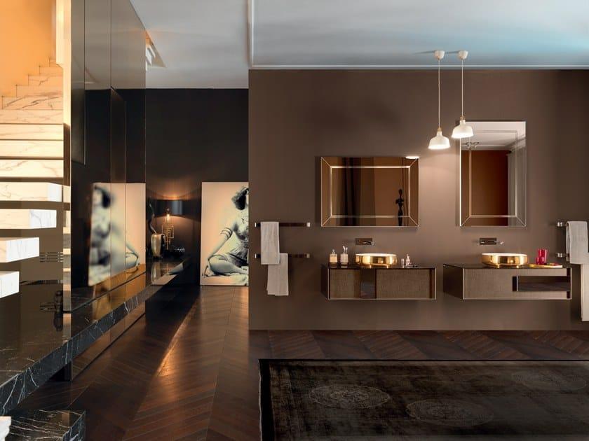 Sectional vanity unit QAMAR - Composizione 1 by INDA®