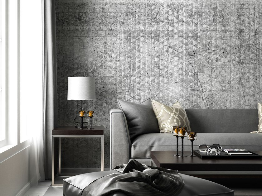 Nonwoven wallpaper QAMAR by Tecnografica Italian Wallcoverings
