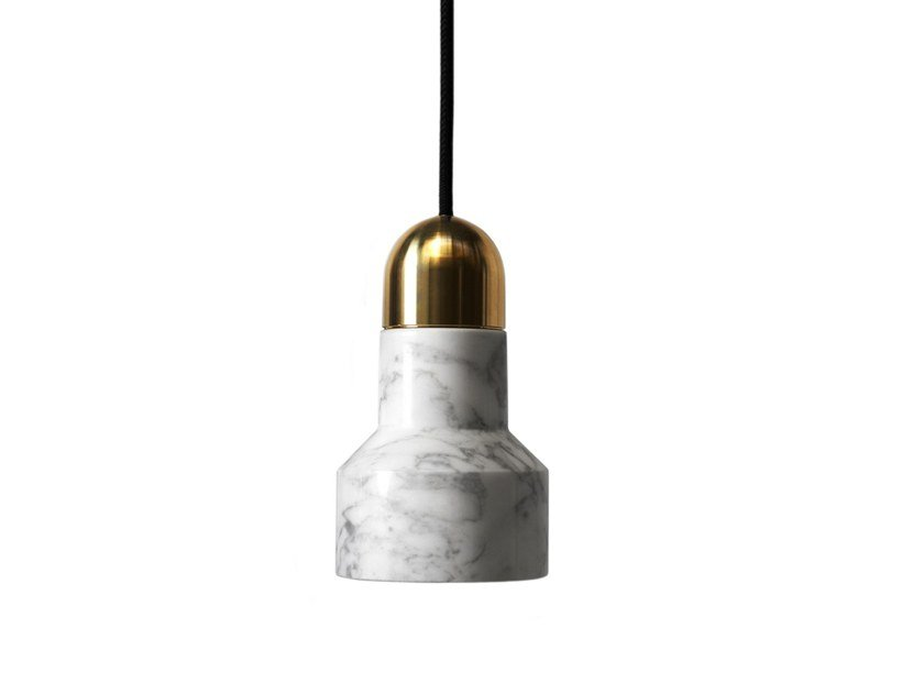 Marble pendant lamp QIE | Marble pendant lamp by BUZAO