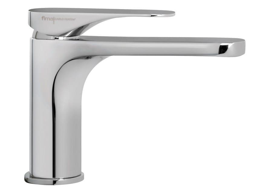 Countertop 1 hole washbasin mixer QUAD F3721L | Washbasin mixer by FIMA Carlo Frattini