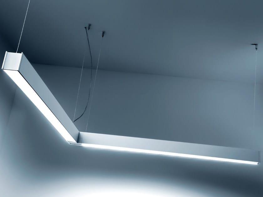 LED pendant lamp QUAD   Pendant lamp by PLEXIFORM