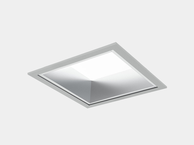 LED aluminium Lamp for false ceiling QUADRA by ES-SYSTEM