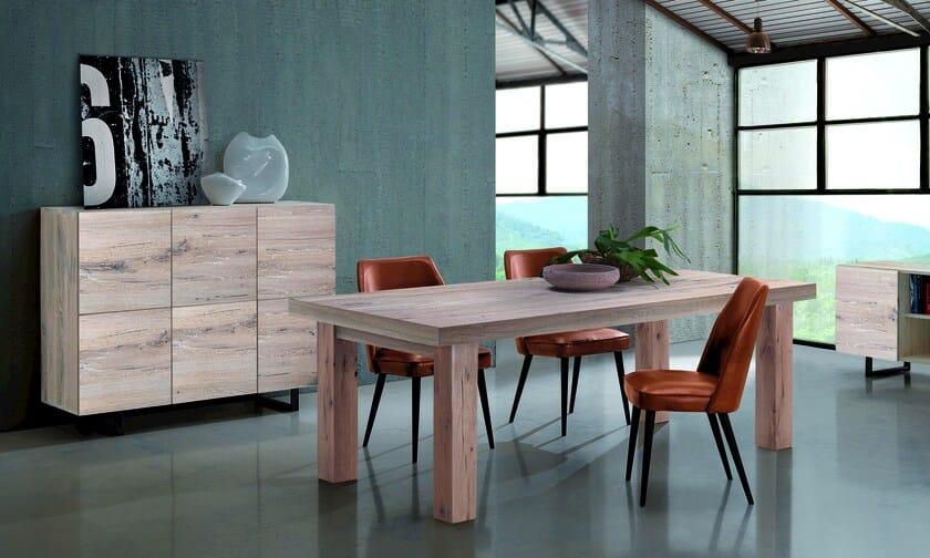 QUADRA | Credenza in legno