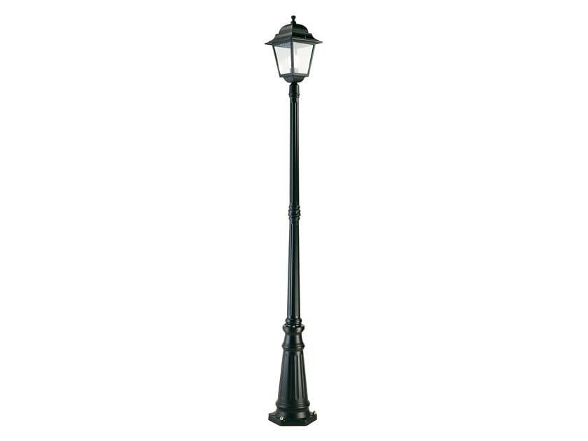 Lampione da giardino a lanterna in alluminio pressofuso QUADRATA 332 by SOVIL
