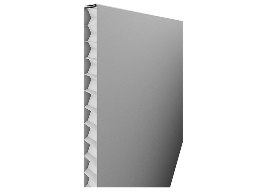 Aluminium Panel for facade QUADROCLAD® QC50 by HunterDouglas Architectural