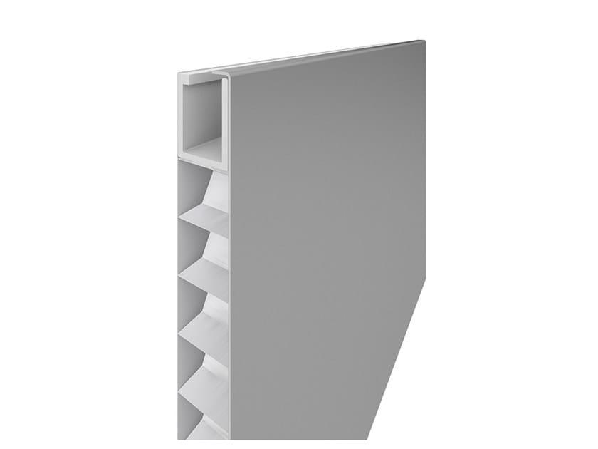 Aluminium Panel for facade QUADROCLAD® QC500 by HunterDouglas Architectural