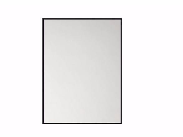 Specchio rettangolare da parete per bagno QUALITIME BLACK | Specchio by Ethnicraft