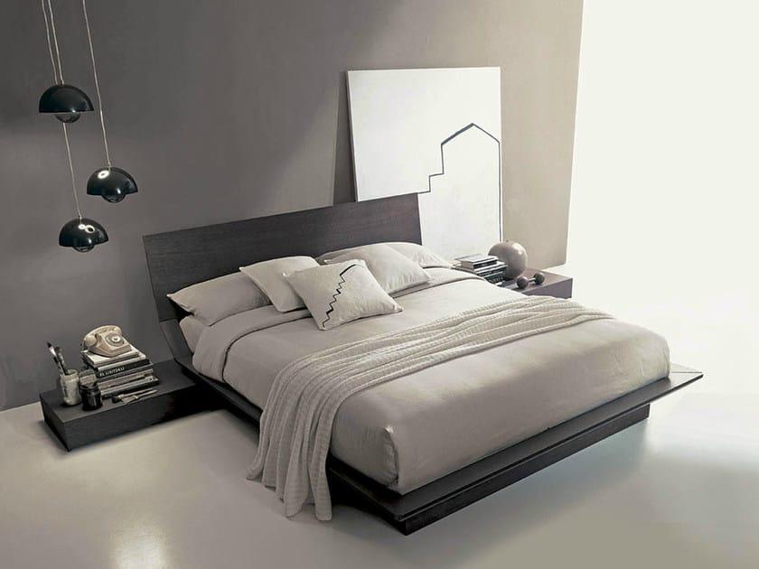 Wooden storage bed QUARANTACINQUE | Bed by Fimar