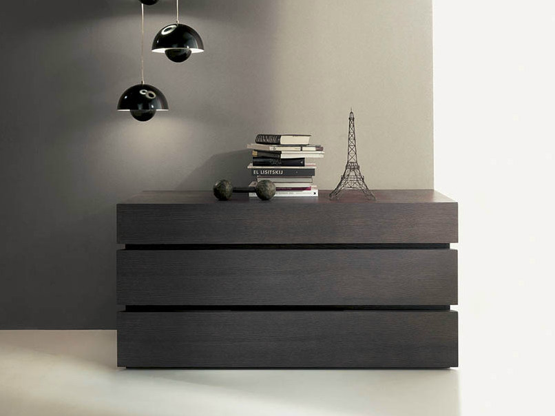 Wooden chest of drawers QUARANTACINQUE | Chest of drawers by Fimar