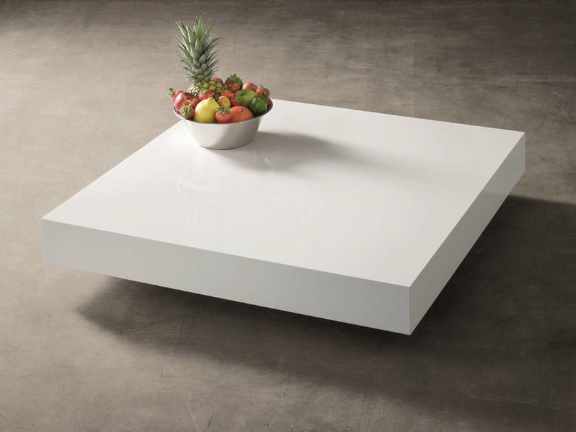 Low lacquered coffee table QUARZO-CRISTALLO | Lacquered coffee table by Dall'Agnese