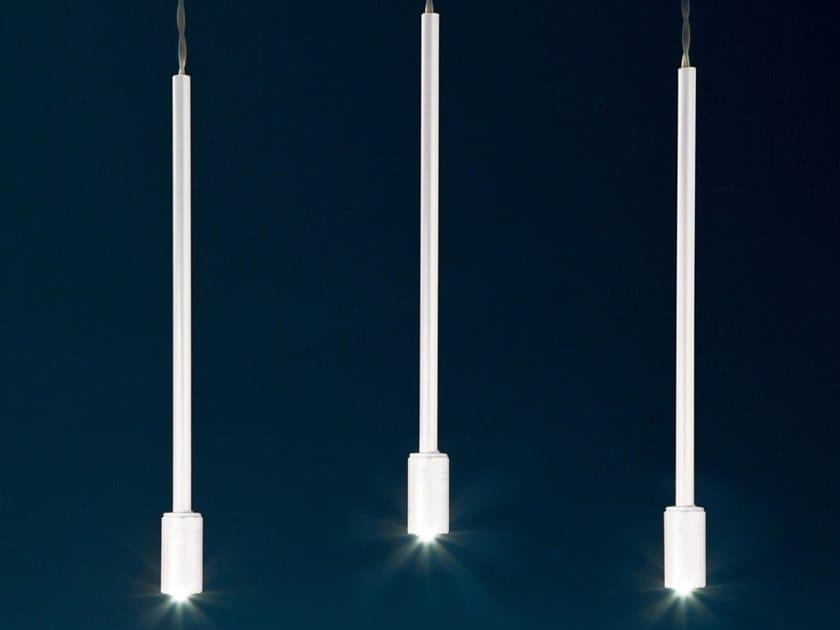 Lampada a sospensione a luce diretta in alluminio QUASAR by Album