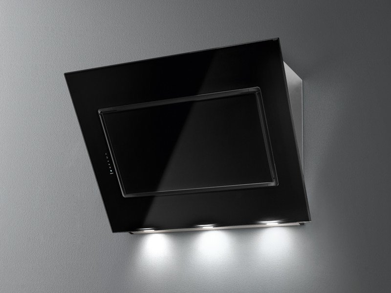 Wall-mounted stainless steel cooker hood with activated carbon filters QUASAR by Falmec
