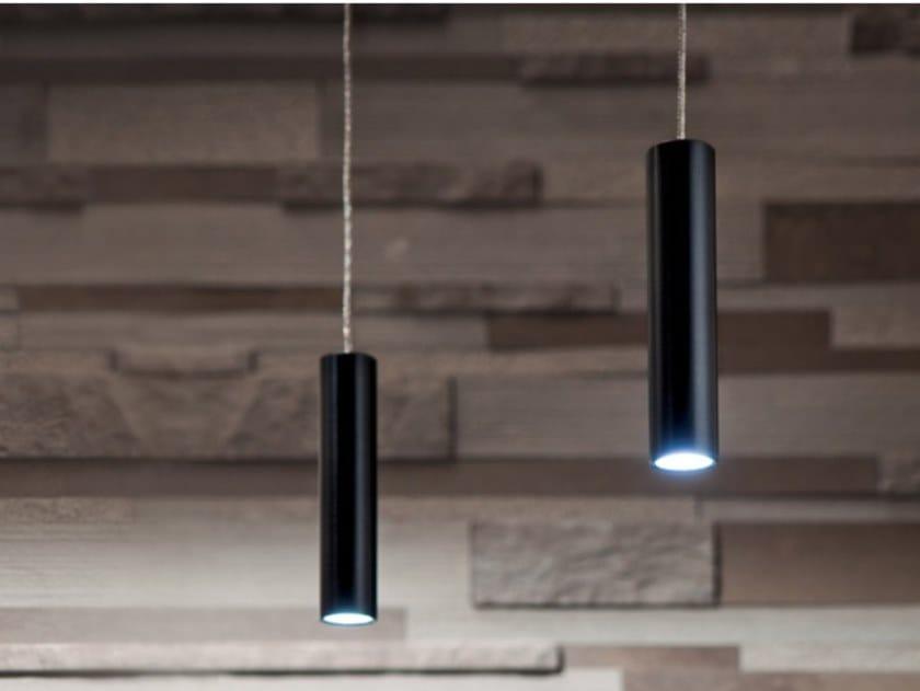 Lampada a sospensione a LED a luce diretta in alluminio QUASARONE   Lampada a sospensione by Album