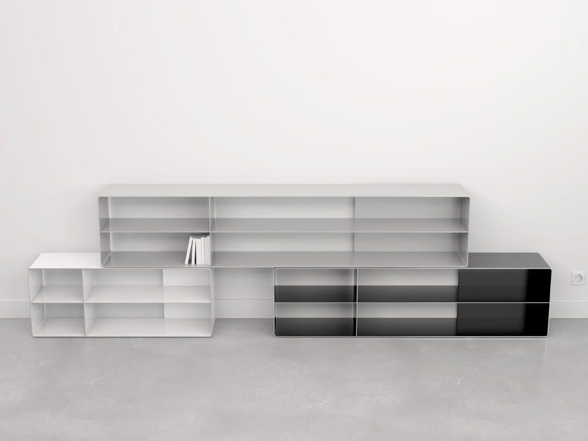 Metal TV cabinet QUATTRO   TV cabinet by VIDAME CREATION