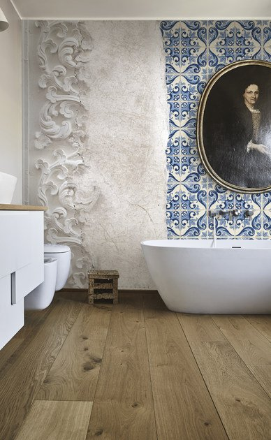 Carta da parati per pavimenti bagni e cucina quattrocento collezione wallcovering 2017 18 by - Carta da parati in cucina ...