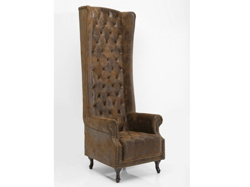 Vintage style high-back armchair with armrests QUEEN VINTAGE by KARE-DESIGN