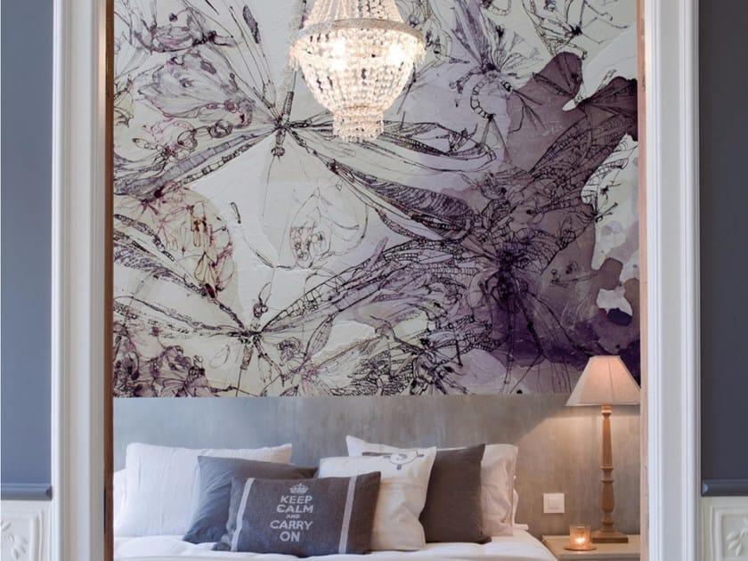 Artistic wallpaper QUESTIONI SERIALI by Inkiostro Bianco