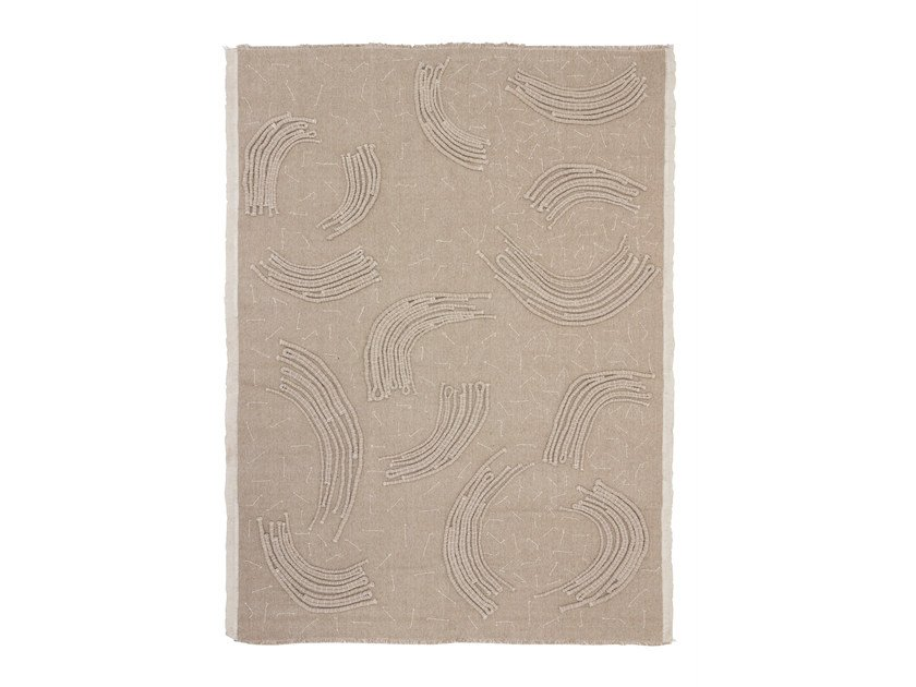 Handmade custom rug QUILT RAW by cc-tapis