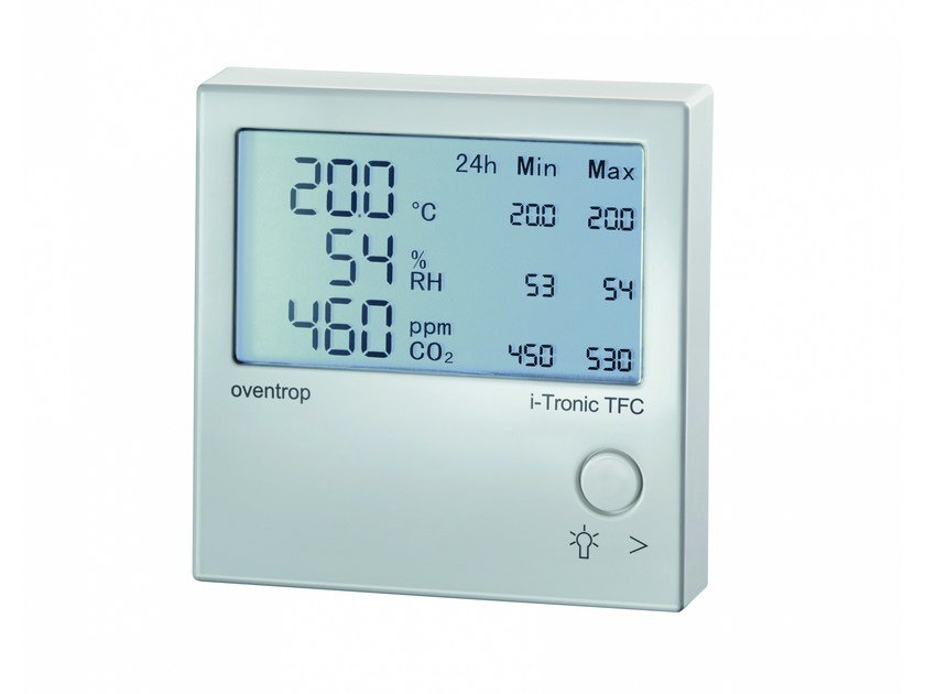 Heat regulation and hygrometric control I-TRONIC by OVENTROP