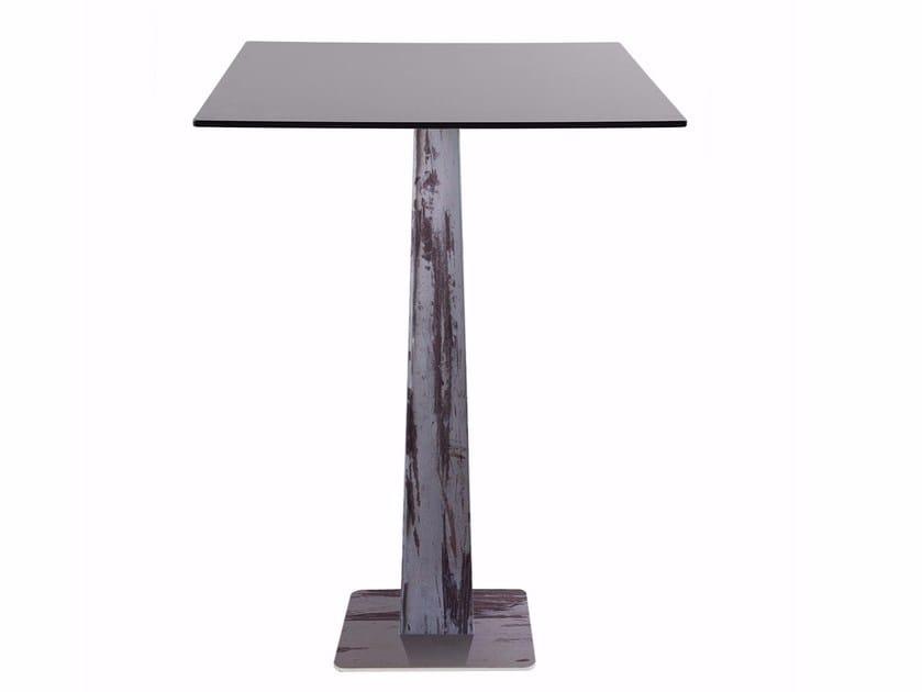 Square steel table R30 PIRA | Square table by Vela Arredamenti