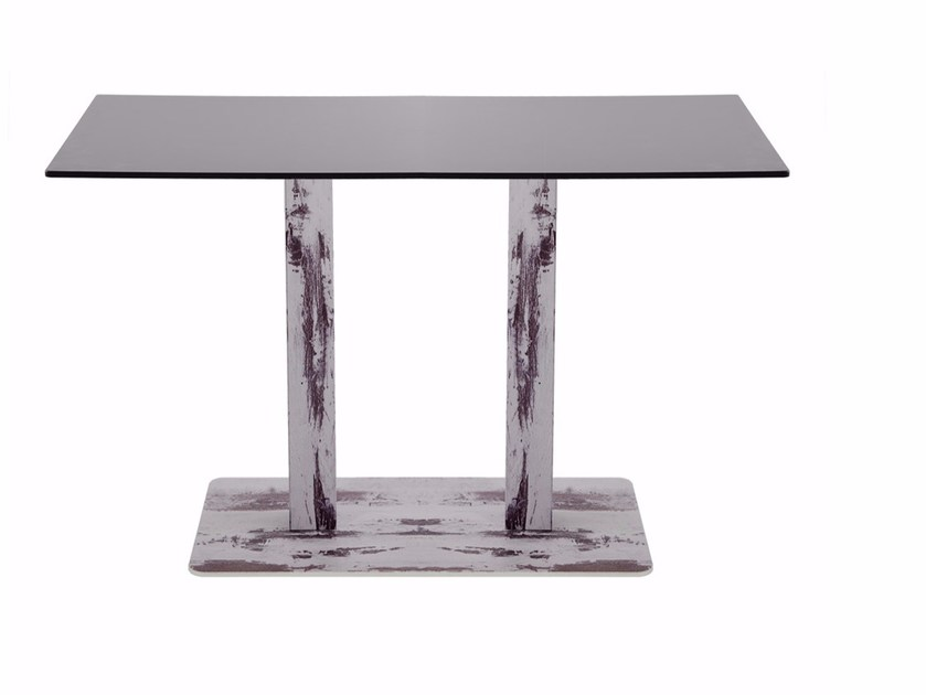 Rectangular steel contract table R30 | Rectangular table by Vela Arredamenti
