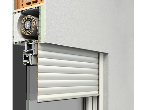 Box for roller shutter RA.2® by Sprilux