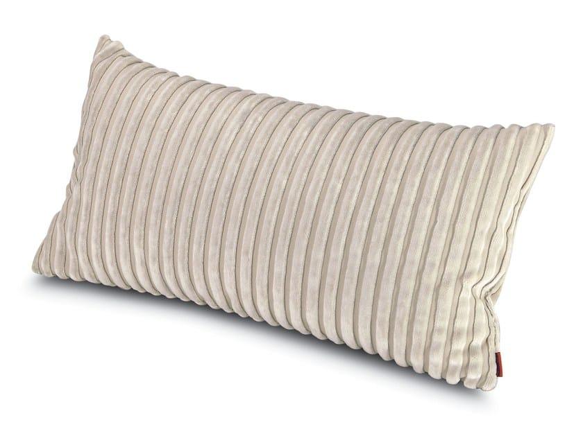 Cuscino rettangolare in velluto RABAT | Cuscino rettangolare by MissoniHome