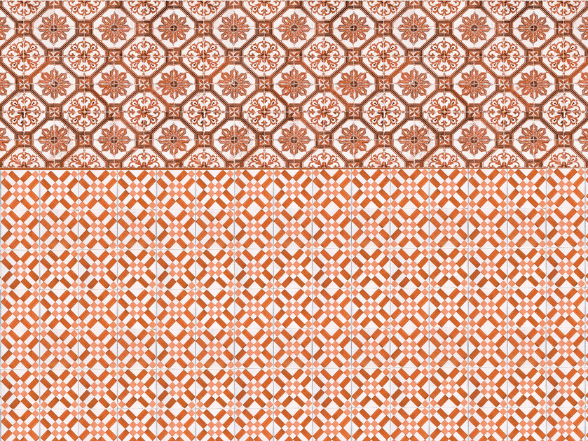 Wallpaper / floor wallpaper RABAT by Texturae