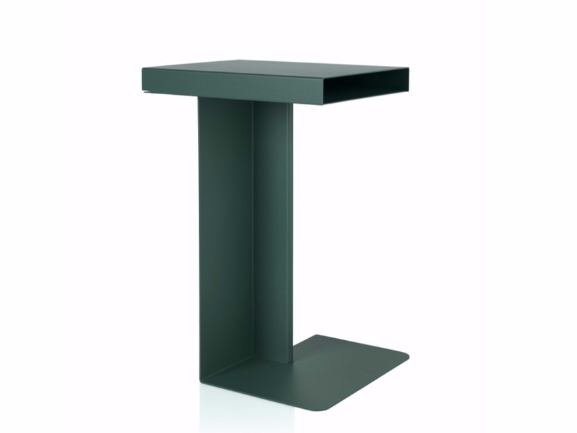 Metal side table RADAR by NOMESS COPENHAGEN