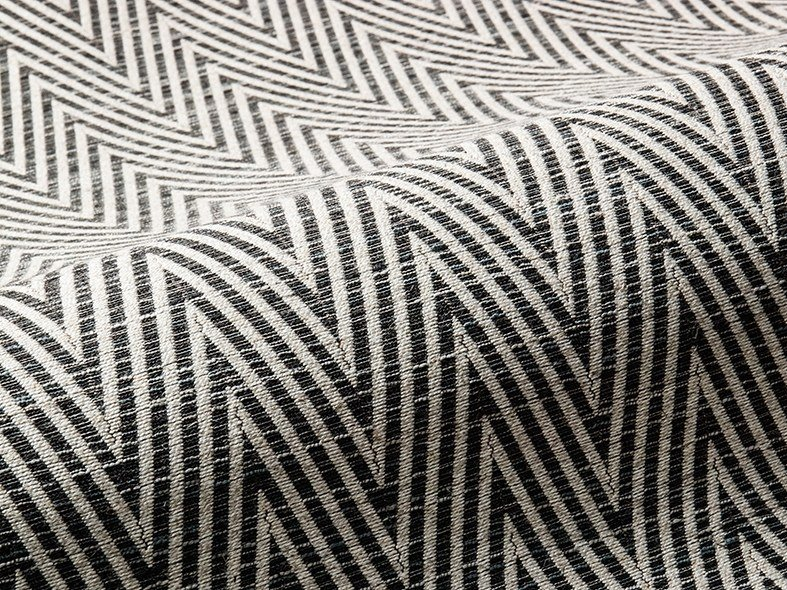 Upholstery fabric with graphic pattern RADIANT by Aldeco