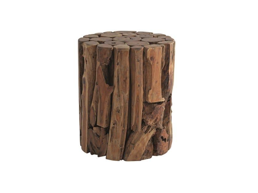 Wooden stool / coffee table RADICE | Coffee table by Il Giardino di Legno