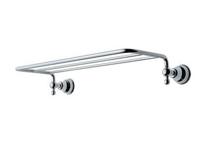 Metal bathroom wall shelf RAFFAELLA | Bathroom wall shelf by INDA®