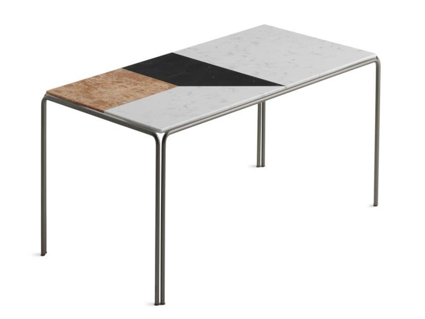 RAGTIME | Tavolino rettangolare alto