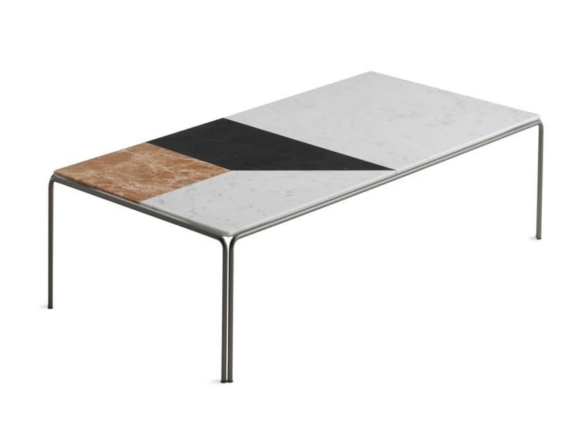 RAGTIME   Tavolino rettangolare basso