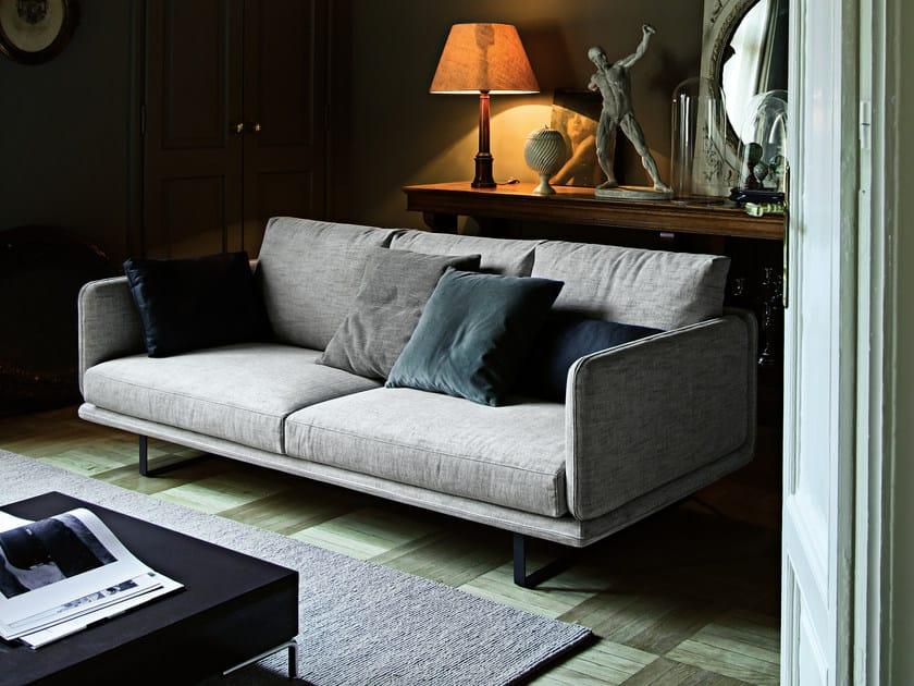 Upholstered fabric sofa RAIL | Fabric sofa by Arketipo