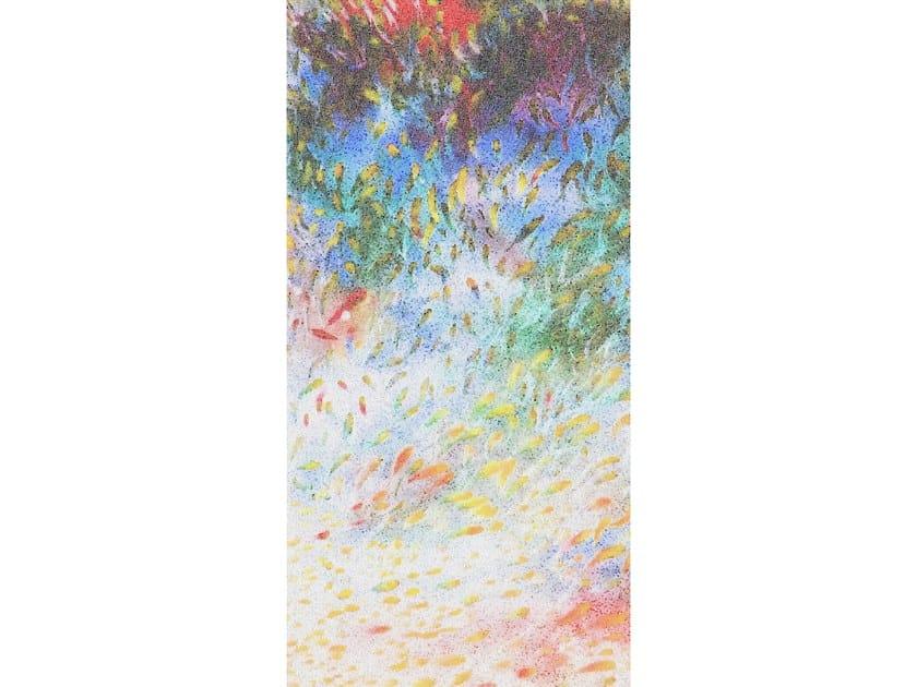 Glass mosaic RAINBOW FISH by Mutaforma