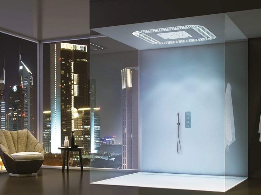 Doccia emozionale con cromoterapia RAINYCLOUD | Doccia emozionale by Ama Luxury Shower