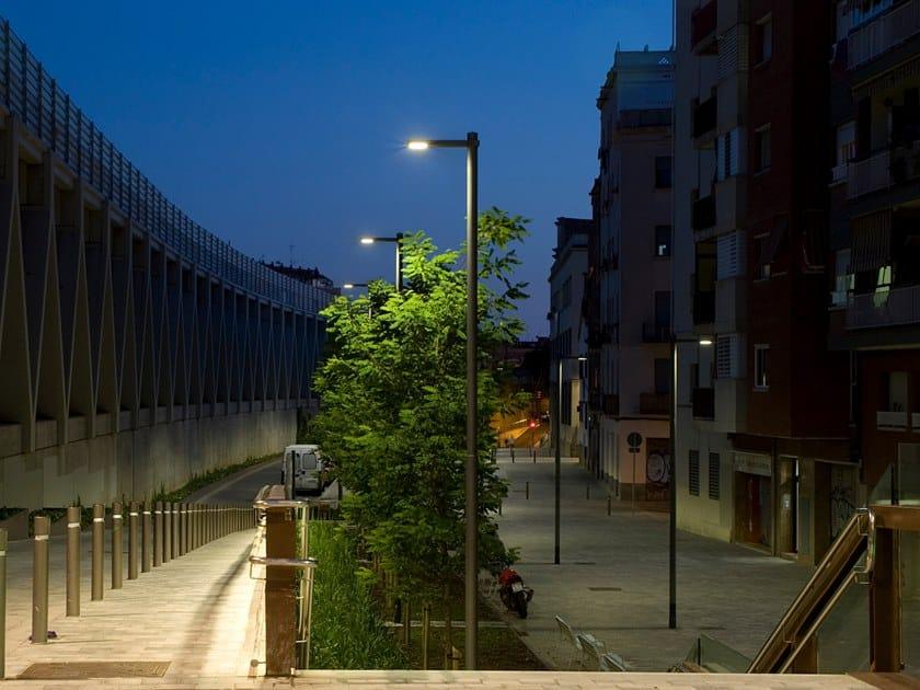 Testa palo a LED RAMA LIVIANA by URBIDERMIS