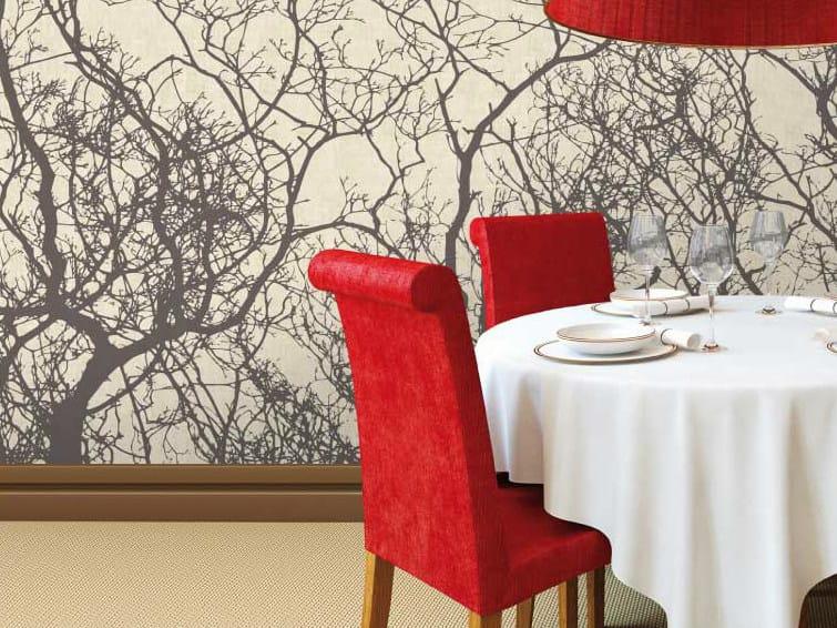 Motif non-woven paper wallpaper RAMI by LGD01