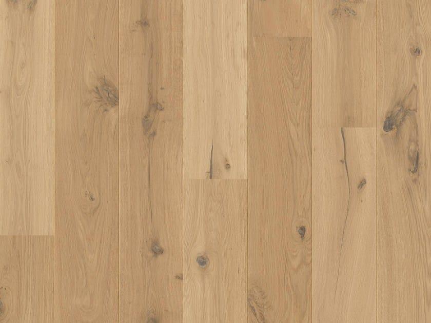 Brushed oak parquet RANCH OAK by Pergo