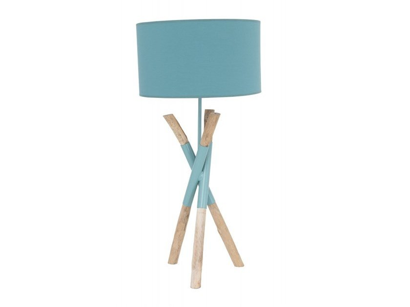 Wooden table lamp RANGUN   Table lamp by Flam & Luce