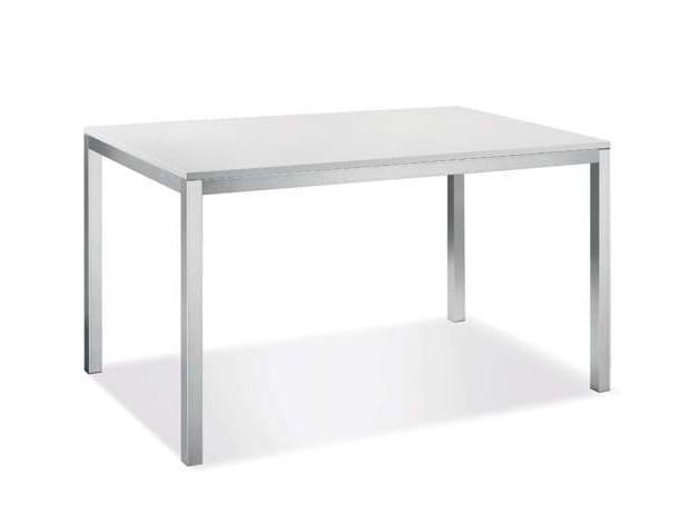 Tavolo rettangolare in laminato RAPIDO by CREO Kitchens