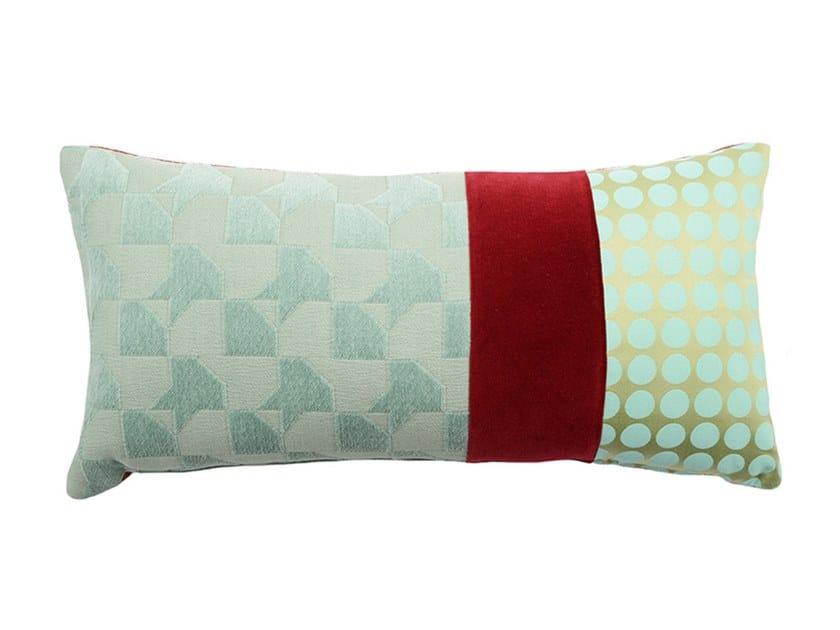 Rectangular fabric cushion RARE 005-16 by l'Opificio